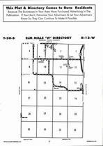 Elm Mills - West, Directory Map, Barber County 2006